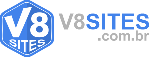 V8 Sites – Criação de Sites Logotipo
