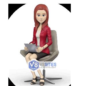 Apresentadora Virtual Monica